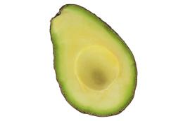 Natural ingredients avocado
